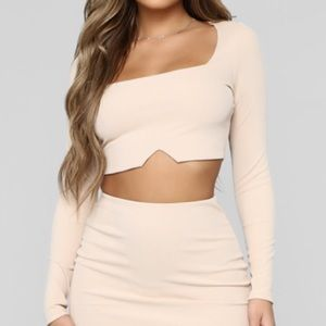 Back To Basic Top - Nude